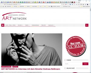 Michael Kleina Referenzen ART NETWORK Peter Koenen KUNST TUT GUT 300x241 - Referenz : ART NETWORK - Kunsthandel Koenen - KUNST TUT GUT